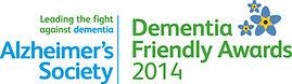 Alzheimers Dementia Friendly Awards date