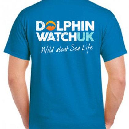 Adults Unisex Sapphire Blue Ultra Cotton T-Shirt