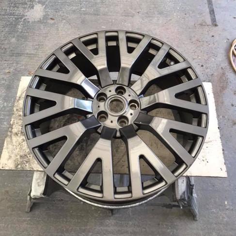 Alloy Wheel colour change