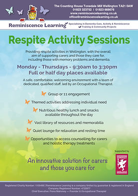 Reminiscence Learning - Respite Activity