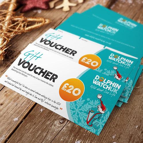 £20 Dolphin Watch UK Trip Voucher