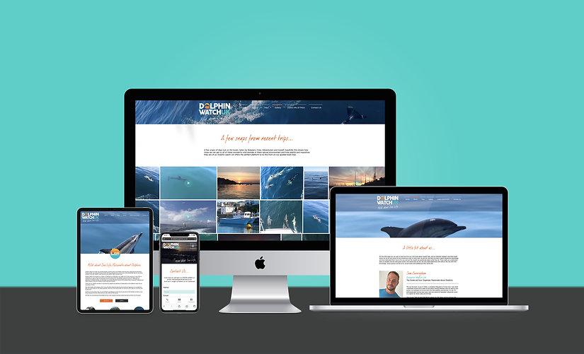 Dolphin Watch UK - Website Design copy.j