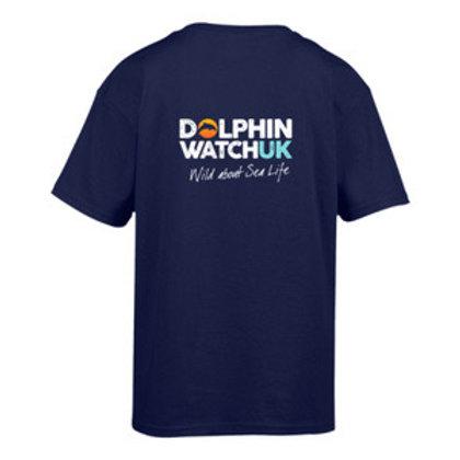 Kids Gildan SoftStyle Ringspun Cobalt T-Shirt