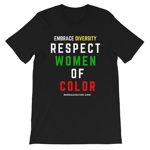 Respect WOC Short-Sleeve Unisex T-Shirt