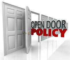An Open Door Policy Only Works With An Open Mind