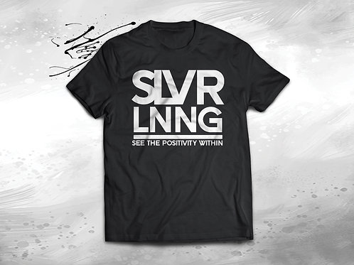 SLVR LNNG Official shirt  Silver ink | Unisex