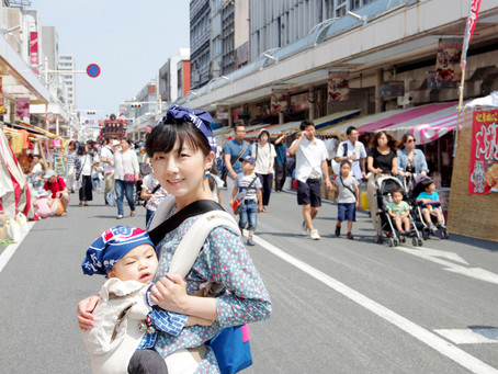 吉原祇園祭2017 お祭りデビュー