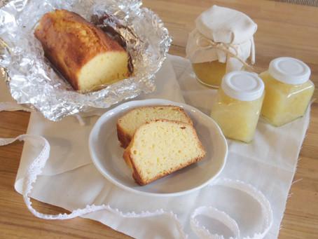 文旦ジャム&パウンドケーキ作り