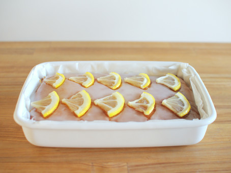野田琺瑯のホーロー容器でレモンケーキ作り