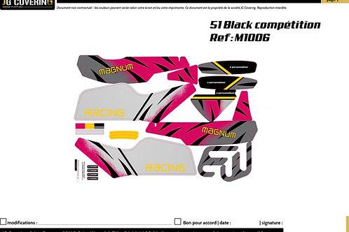 KIT adaptable  MAGNUM MR1 BLACK COMP