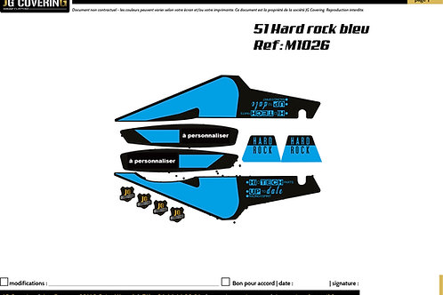 KIT adaptable 51HARD ROCK BLEU