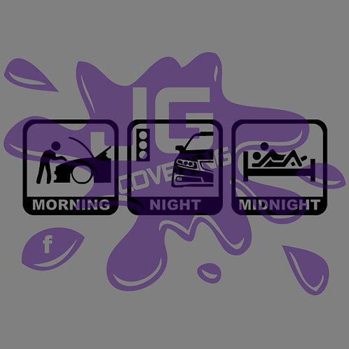MORNING NIGHT MIDNIGHT