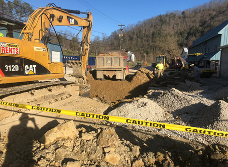 Isom Shell Water Main Relocation and Soil Excavation