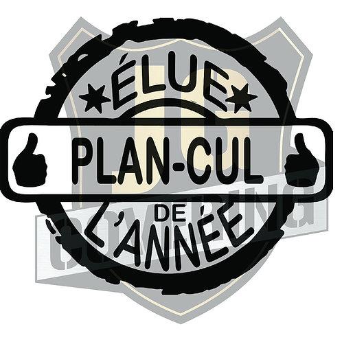 ÉLUE PLAN CUL DE L'ANNÉE