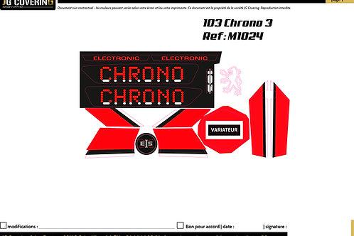KIT adaptable 103 CHRONO 3
