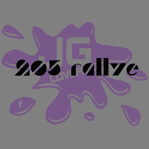 logo 205 rallye