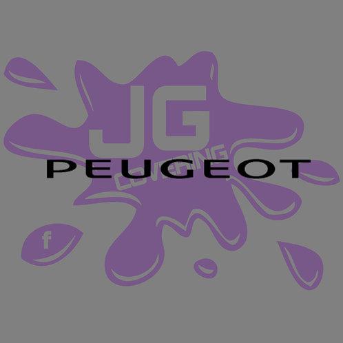 LETTRAGE PEUGEOT 1