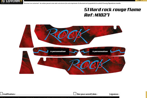 KIT adaptable 51 HARD ROCK flammes rouge