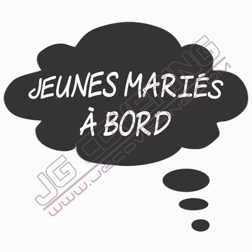 JEUNES MARIES A BORD