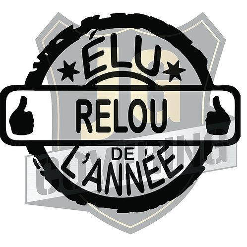 ÉLU RELOU DE L'ANNÉE