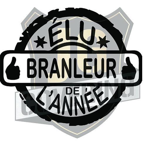 ÉLU BRANLEUR DE L'ANNÉE