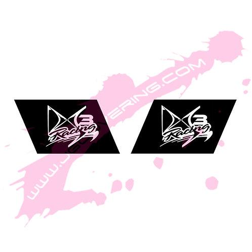 TRAPÈZE logo DS3 RACING SIGN