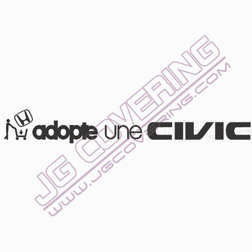 ADOPTE UNE CIVIC (version homme)