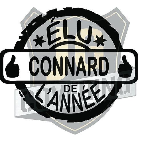 ÉLU CONNARD DE L'ANNÉE