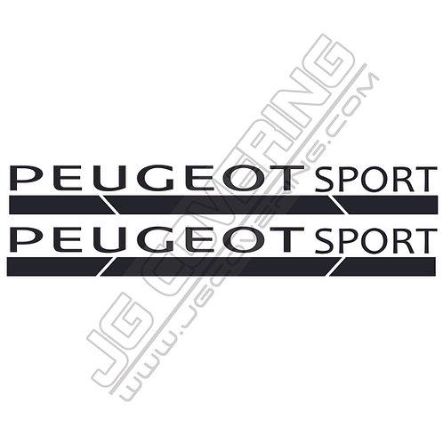 PEUGEOT SPORT ÉTRIER 1 ( vendu par paire)