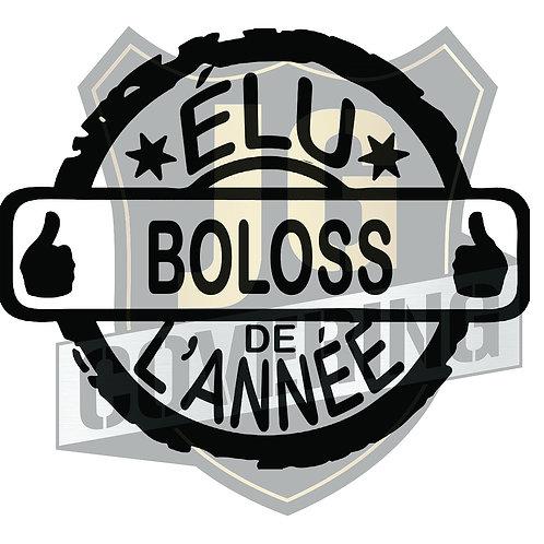 ÉLU BOLOSS DE L'ANNÉE