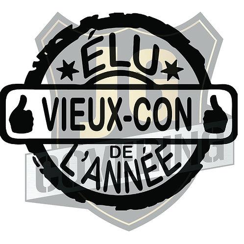 ÉLU VIEUX CON DE L'ANNÉE