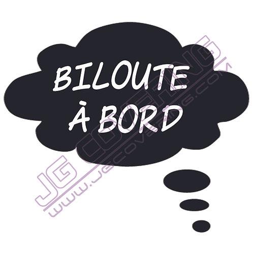 BILOUTE A BORD