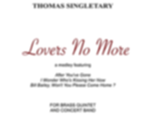 Lovers No More