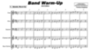 Band Warm-Up