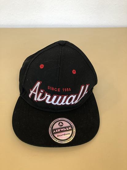 Airwalk Mütze schwarz/rot/weiss