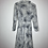 Thumbnail: Romantisches Kleid weiss/blau.