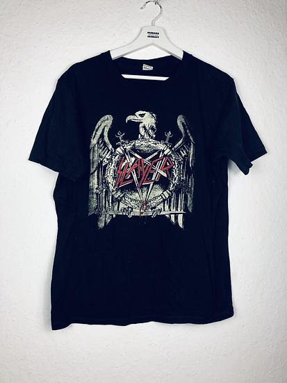 """""""gefährlich gut!"""" - Slayer T-Shirt Girly schwarz mit weiss und rot"""