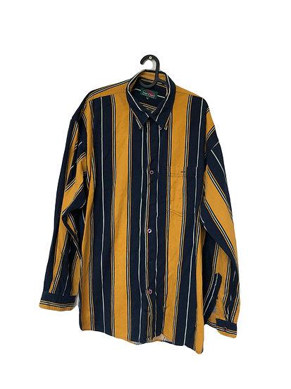 Schwarz/gelbes Hemd