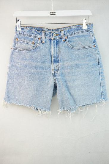 Blaue Shorts von Levis Strauss 550