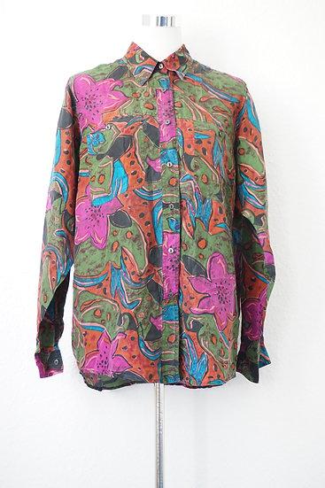 """""""Abstract Garden"""" - buntes Hemd"""