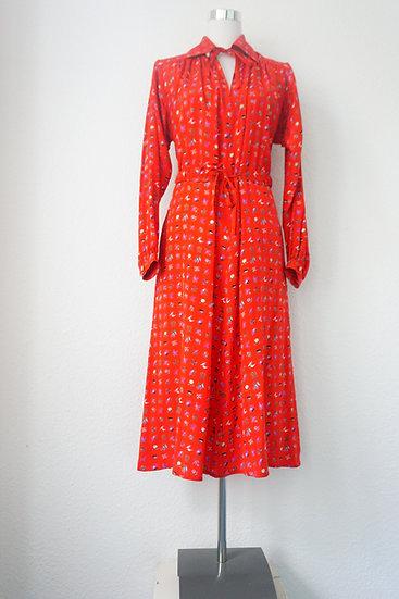 """Rotkäppchens Kleid""- traumhaftes rotes Kleid"