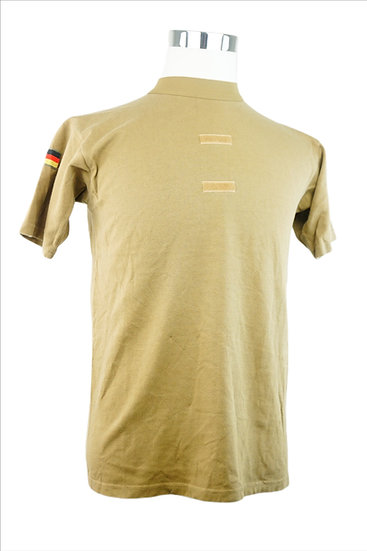 Braun Militär T-Shirt