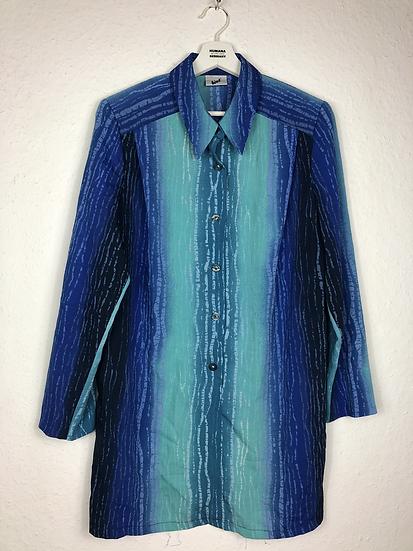 """""""blaues Wunder"""" Vintage Bluse grün/blau/türkis"""