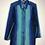 "Thumbnail: ""blaues Wunder"" Vintage Bluse grün/blau/türkis"