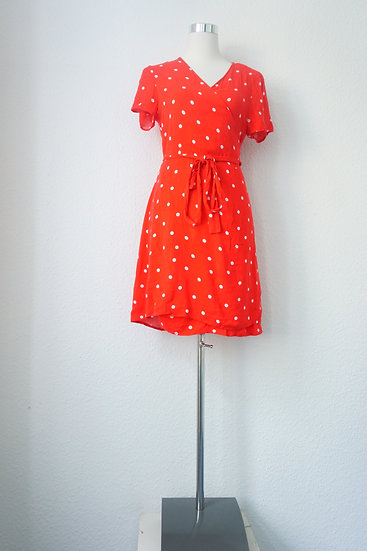 """""""Märchenland""""  - Rotes Kleid mit Punkten"""