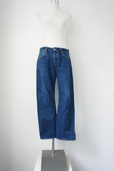 90's Blaue Levi Strauss Jeans weites Bein
