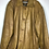 Thumbnail: Goldenbraune Vintage Lederjacke, Herre