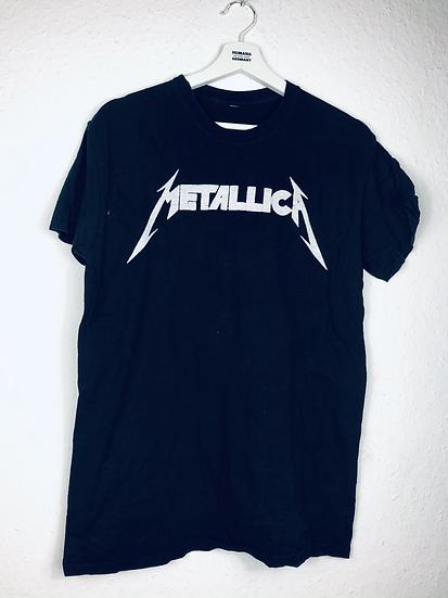 """""""Rock on !""""- Metallica T-Shirt, girly , schwarz mit weiss"""