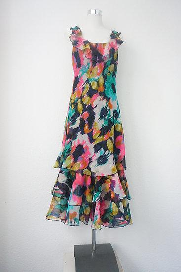 """""""Summer Swing""""-  Armloses buntes Kleid"""