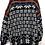 Thumbnail: Norwegerpulli. Dunkelblau mit weissem Muster und Bunten Borte